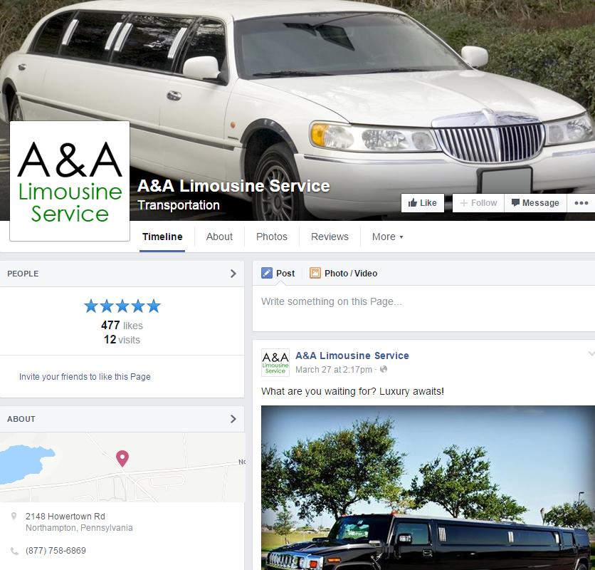 Limousine Service Website Design